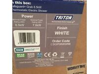 Triton Safeguard+ 8.5kW Thermostatic Electric Shower - CSGP08W