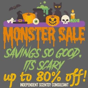 80% off Scentsy sale happening now!