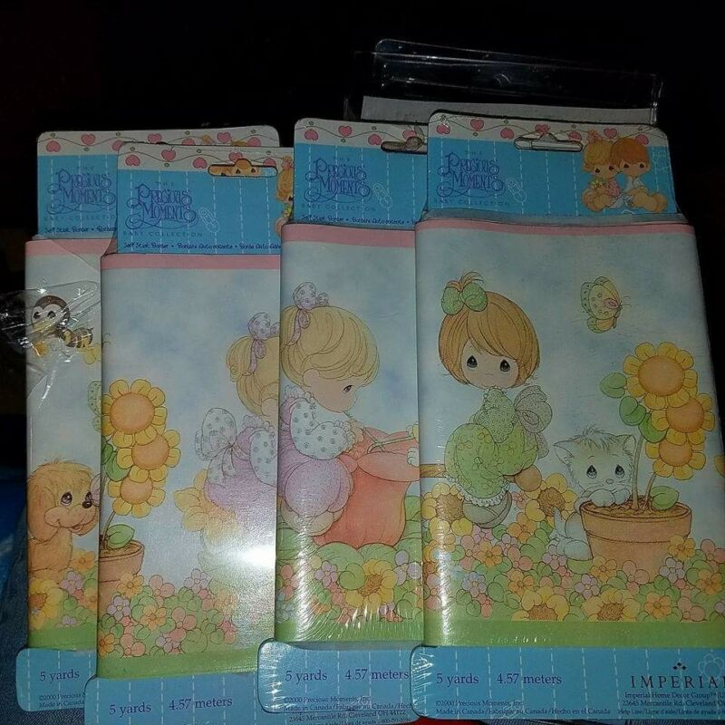 precious momments wall paper border. Baby