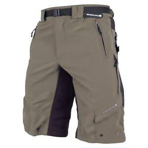 Men's Endura Hummvee MTB/Commuter cycling Bike shorts-Baggy-X Large Olive