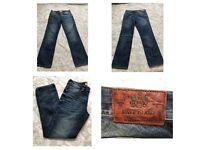 "Rivers Island Men's Jeans Straight Cut size: UK 32""L - EUR 81L -32""x34"""