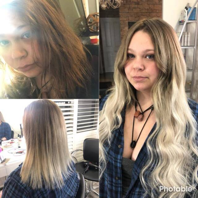 Zip Pay Human Hair Extensions And Colouring Services Hairdressing