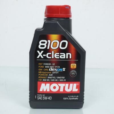 Bidón Desde 1L de Aceite Motul 8100 X-Clean 5W-40 Acea C3 Nuevo...