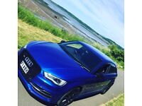Audi S3 8v 2015 Sepang Blue 3dr *Nice Spec*