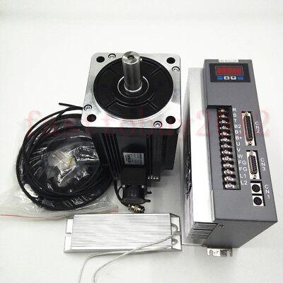3.8kw Ac Servo Drive Motor Cnc Kit 15nm Machining 220v 2500rmin Nema52