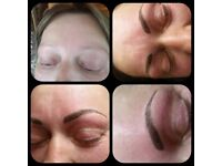 Microblading Brows only £150 and Russian Volume lash extensions £45