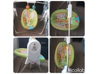 Fisher price space saver 2 way swing with musical £50 ono