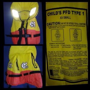 Child PFD Type 1 life jackets Varsity Lakes Gold Coast South Preview