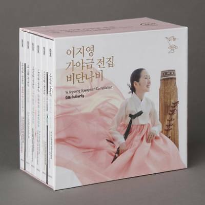 Korean Traditional Music 6 CD-Yi Jiyoung Kayageum Compliation-Silk Butterfly