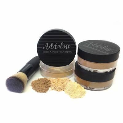 Addaline Loose Mineral Powder Foundation Organic All Natural New Pure Pick Color All Natural Mineral Loose Foundation