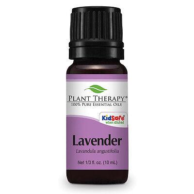 Lavender Essential Oil 10 mL (1/3 oz). 100% Pure, Undiluted, Therapeutic Grade