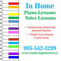 In Home Music Lessons in Mississauga
