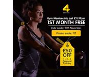 Xercise4less Gym Membership - £11.99 Per Month - First Month Free! - £20 Admin Fee