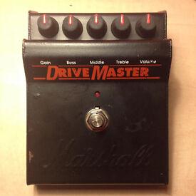 Marshall Drivemaster (JCM800 Overdrive Pedal)