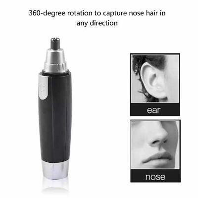 इलेक्ट्रिक नाक कान बाल ट्रिमर भौं शेवर क्लिपर ग्रूमर क्लीनर उपकरण