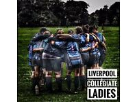 Ladies Rugby Team seeking new players of all abilities!