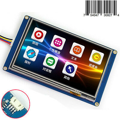 5.0 Nextion Hmi Tft Lcd Display Module For Raspberry Pi 2 A B Arduino Kits