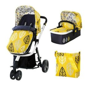 Cosatto Giggle pram 2in1