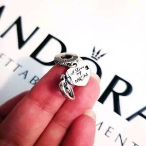 """I love my m❤m"" Authentic Pandora Locket Charm"