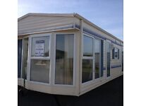 STATIC CARAVAN FOR SALE ON QUIET FAMILY RUN SITE IN MABLETHORPE DOUBLE GLAZED ELECTRIC PANEL HEATED