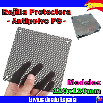 1x Filtro Antipolvo tipo malla en PVC para PC y ventiladores de...
