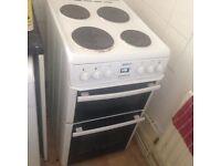 White Beko electric cooker