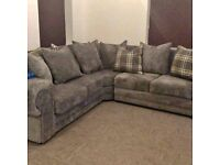 SAME DAY / NEXT DAY DELIVERY AVAILABLE == NEW VERONA CORNER SOFA OR 3+2 SOFA SET == IN STOCK