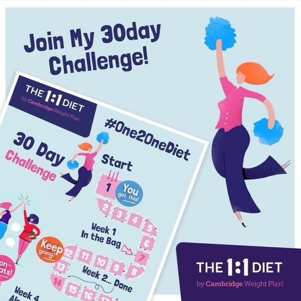 30 Day Weight Loss Challenge By Cambridge Weight Plan In Royton