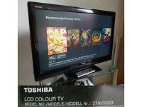 """Toshiba 37AV505D TV 37"""" HD Ready LCD screen"""