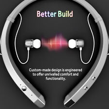 Magnetic Universal Run Sports Bluetooth Headphones Stereo Necklace Earphone