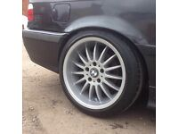 17 inch Bmw Deep Dish Rondell Alloy Wheels and Tyres (e36,e46,330,M6,Mv2,m3,e34,e39,e60)