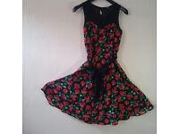Beautiful flouncy little daywear dress UK size 8