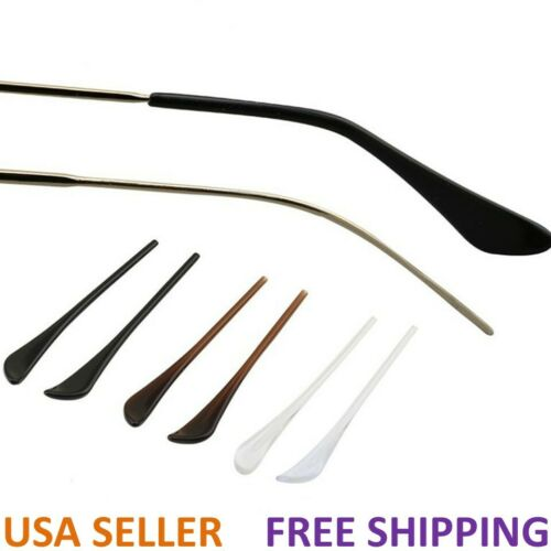Eyeglasses Acetate Fiber Temple End Tips Ear Sock Pieces Tubes Replacement