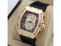 RICHARD MILLE RM052 Men's watch NEW*NOT Rolex Hublot Breitling Tag Heuer Omega Cartier Mont Blanc*