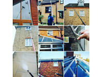 Window Cleaning - Fascia and soffit Cleaning - Pressure Washing - Gutter Clearing
