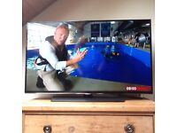 """40"""" Samsung SMART Led TV full 1080p RRP £449 Internet Television 100hz Freeview Wifi Pause/rewind"""
