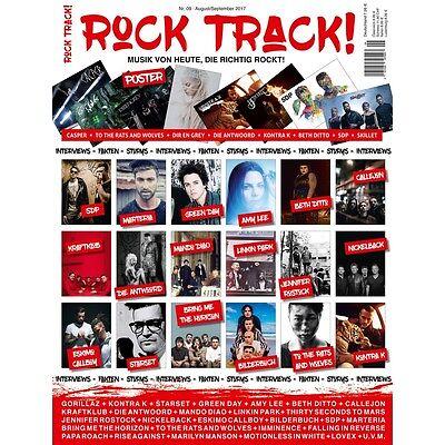 ROCK TRACK! - Aug./Sept. 2017 mit SDP, LINKIN PARK, KRAFTKLUB, CASPER uvm. NEU!