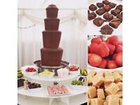 Chocolate Fountain & Fruit Palm Hire - Wedding - Birthday - Corporate Party #welovechocolate