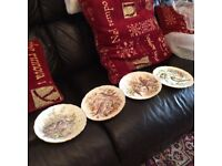 Set of wall plates
