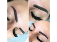 Russian lashes/permanent make up