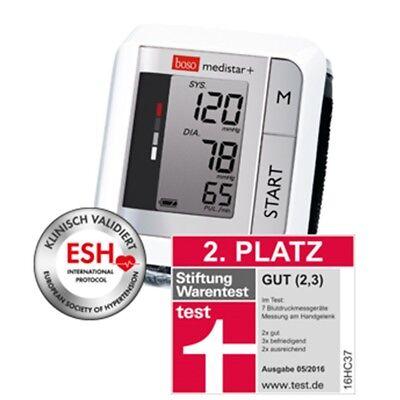 BOSO medistar + Handgelenk Blutdruckmessgerät vollautomatisch PZN 10189240 OVP