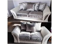 Just Shine with Light *SHANON CRUSH VALVET* (Corner & 3+2 seated sofa) In Stock...