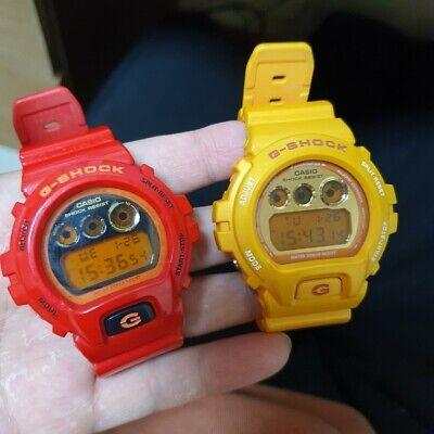Casio G-Shock Crazy Colors Watch DW-6900CB-4,DW-6900SB-9 MINT, New battery!