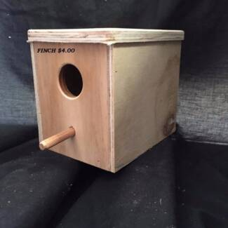 BIRD NESTING BOXES - ALL VARIETIES STARTING FROM $4