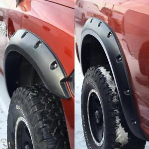HOLIDAY SEASON SALE !!! GRIZZLY FENDER FLARES !! DODGE RAM FORD CHEVROLET ---- $299 ONLY