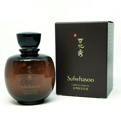 Sulwhasoo Camellia Hair Oil 100ml Lightweight Feeling Smooth Nourished K-Beauty