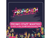 Promoters wanted!