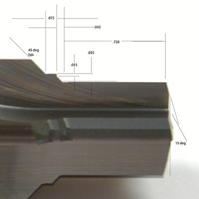750-16 Solid Carbide Porting Tool 1305-01 - Rite-waye-3-10-2-5-ofg
