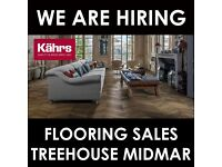 We are looking for a sales person to help run our long established flooring department at Midmar