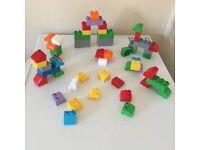 Bundle of Megabloks (like Lego Duplo) £3 for all collection from Shepshed.